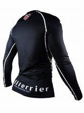 Load image into Gallery viewer, BULL TERRIER -STANDARD- Rash Guard Long Sleeve Black