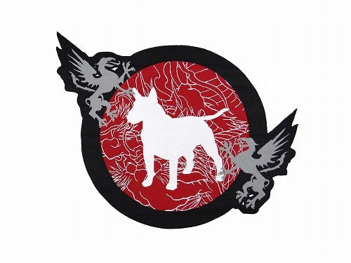 BULL TERRIER patch -MUSHIN-