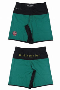 BULLTERRIER -THE RANGER- Fight Shorts Green