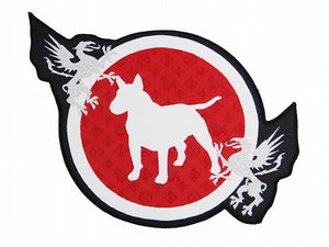 BULL TERRIER Patch -Monogram-