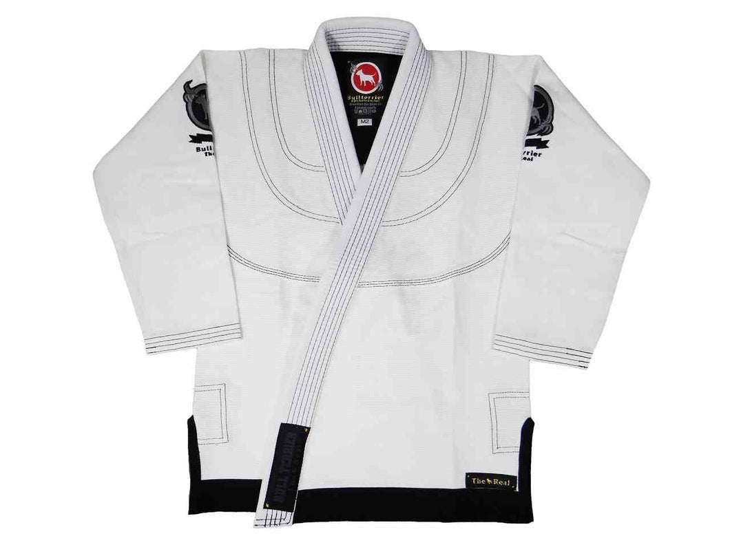 BULL TERRIER KIDS Gi ULTRA LIGHT White