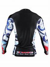 Load image into Gallery viewer, BULL TERRIER -ASHURA- Rash Guard Long Sleeve Black