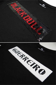 BLACK BULL -T-SHIRT-LOGO SPC Black