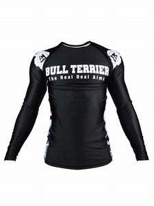 BULL TERRIER -ASHURA- Rash Guard Long Sleeve Black