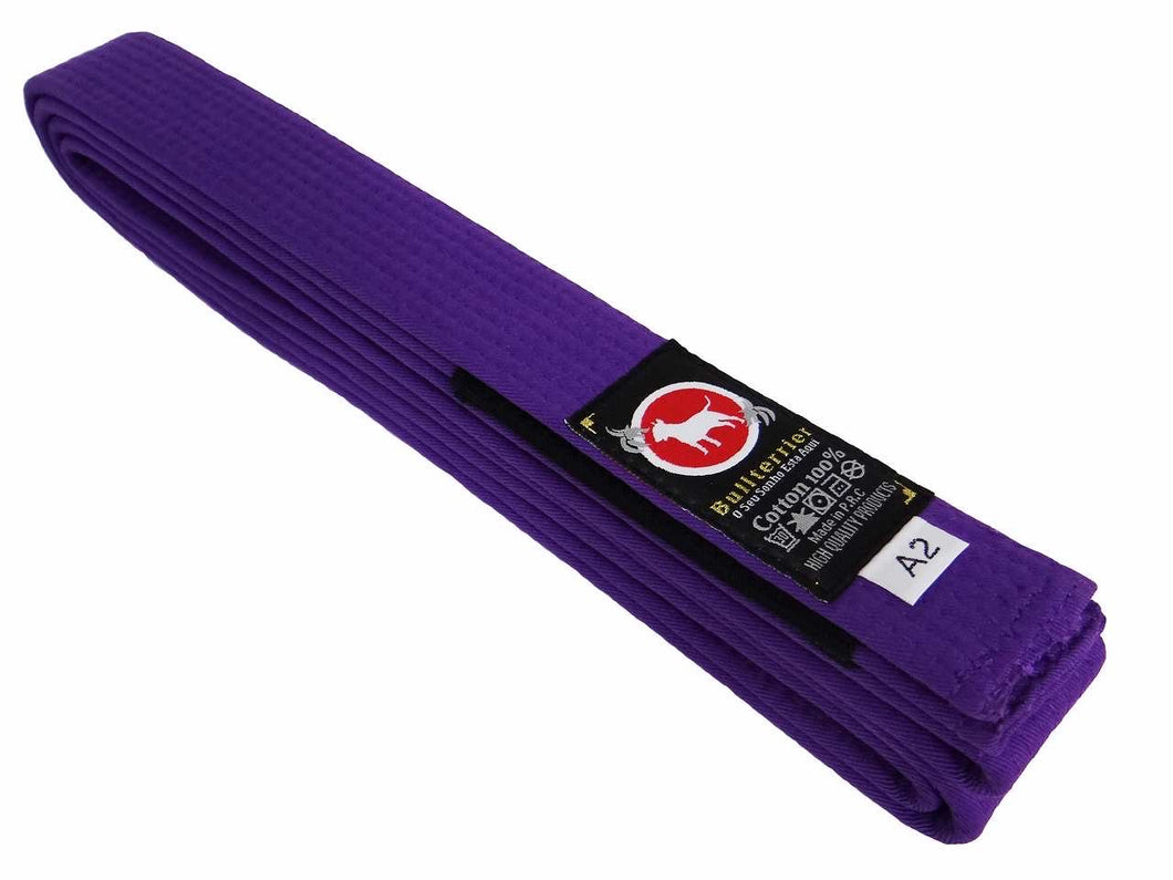 BULL TERRIER BJJ Belt Purple