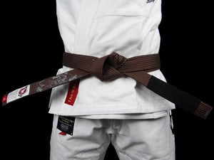 BULL TERRIER -MUSHIN- BJJ Belt Brown