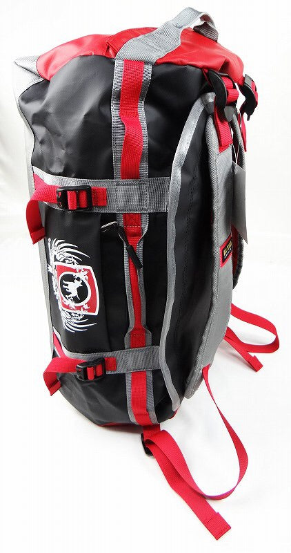 BULL TERRIER - 2Way Backpack Red