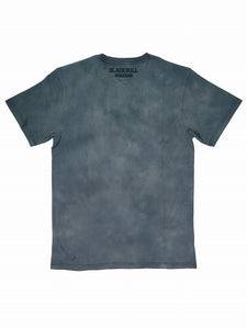 BLACK BULL-TIE DYE FF-T-SHIRT LIGHT GRAY