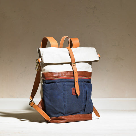 Roll Top Back Pack - TM1985