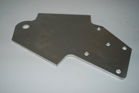 Front Rocker Chassis Plate - Rear