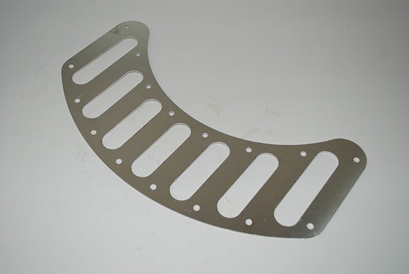 Front Brake Vent Mesh Plate