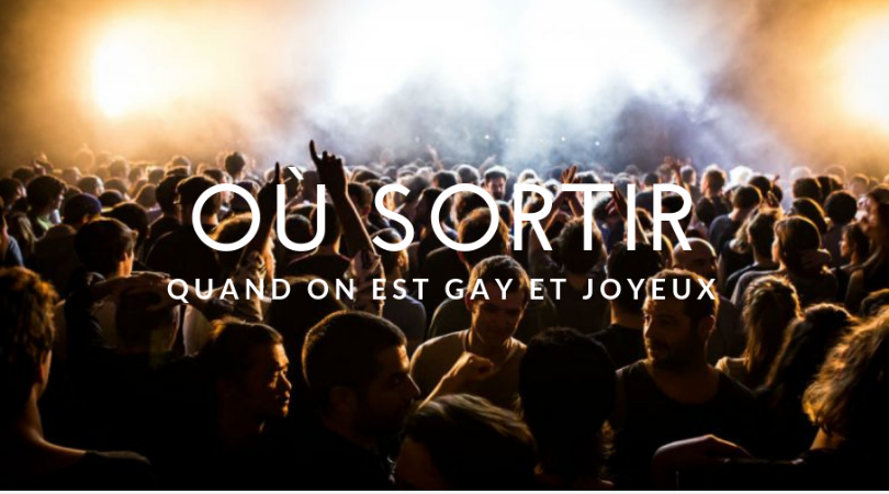 Ou sortir à Paris - gay