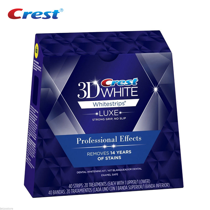Blanchiment des dents 3D White de crest