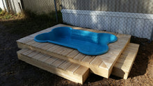 dogpools.shop One Dog One Bone Deluxe Bone Pool Deck Kit