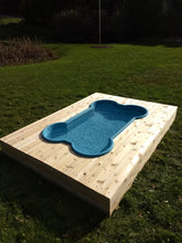 dogpools.shop One Dog One Bone Simple Bone Pool Deck Kit Plans