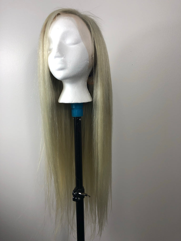 Lace Front Wig Ash Blonde