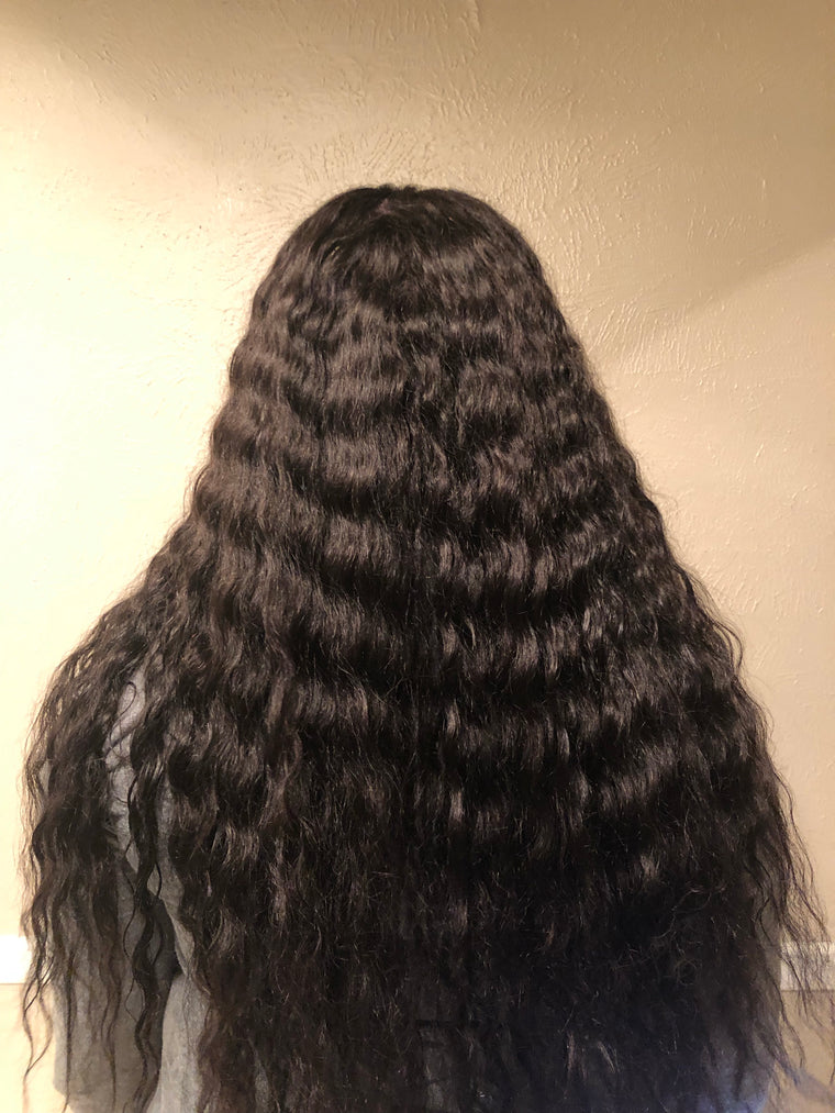 Deep Wave Full Lace Wig - LUXE Collection