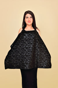 Black Raised Foliage Nursing Cover