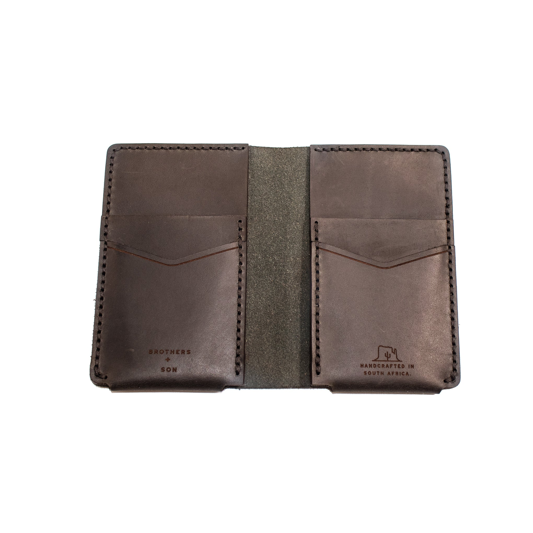 The Vertical wallet - Black