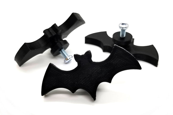 Bat Cabinet Knob || gothic home decor kitchen cabinet drawer pull dresser handle halloween bat decoration decorative cupboard knob vampire