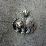Bear Pendant in Silver