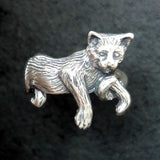 Cat ring in Silver