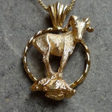 Big Horn Sheep or Mt. Goat pendant