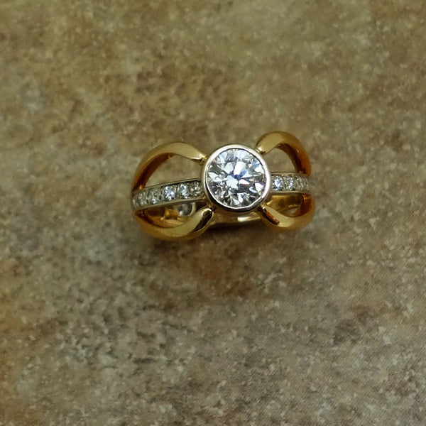 Diamond Ring 14k Wedding Engagement Anniversary Jan David Fine Jewelry Collection