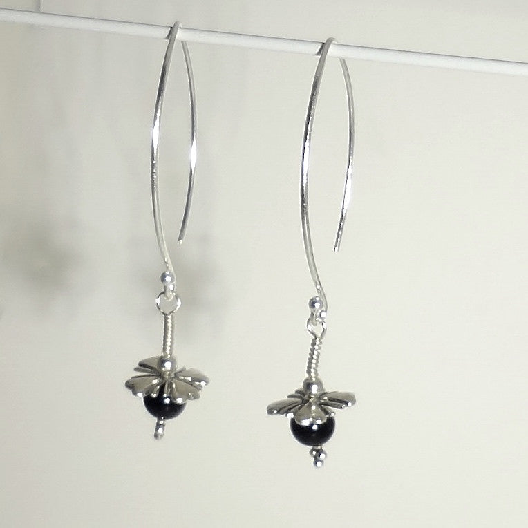 5d06df13c The wire · Sterling silver handmade limited edition earring 2-1/2 inches  long.