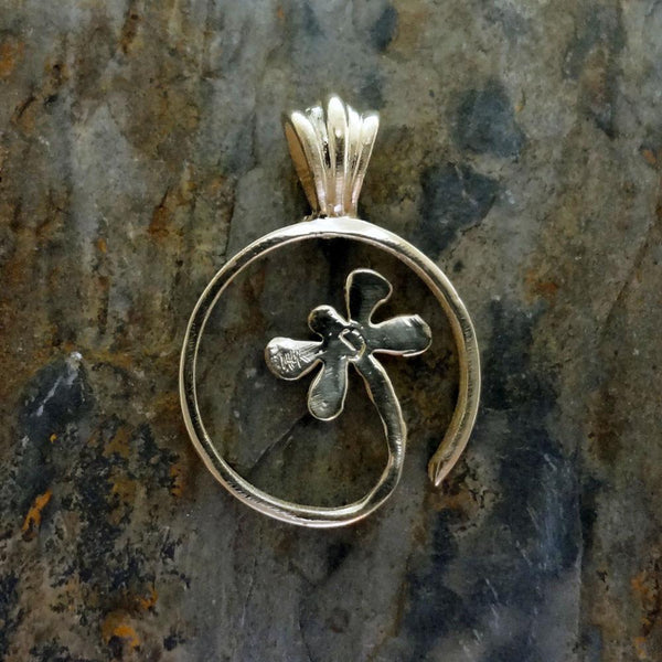 Dragonfly Pendant handmade in Sterling or 14k Gold by All Animal Jewelry