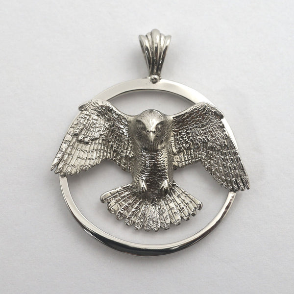 Peregrine Falcon Pendant - Handmade in the Pacific Northwest - Wholesale