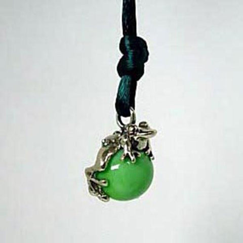 Frog Pawjama Pendant handmade in Sterling or 14k Gold by All Animal Jewelry
