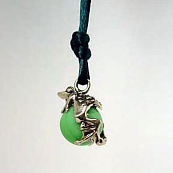 Frog Pawjama Pendant handmade in Sterling or 14k Gold by Tosa Fine Jewelry