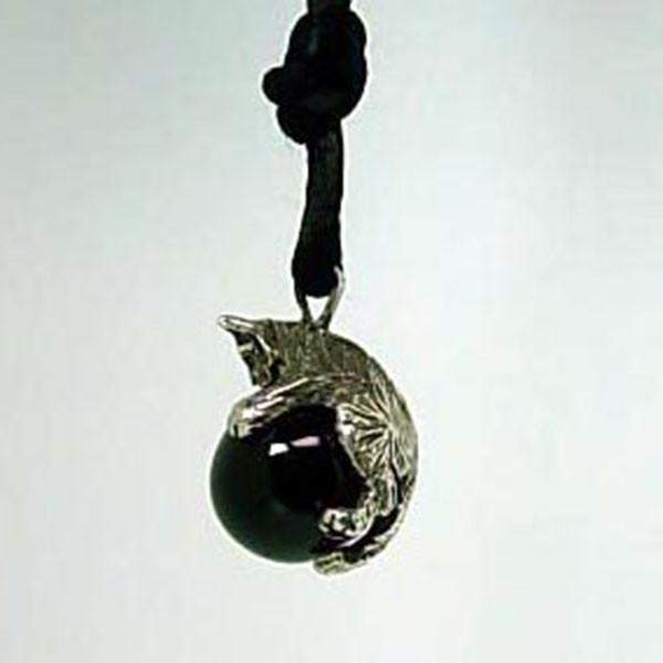 Kitty Cat Pawjama Pendant handmade in Sterling or 14k Gold by All Animal Jewelry