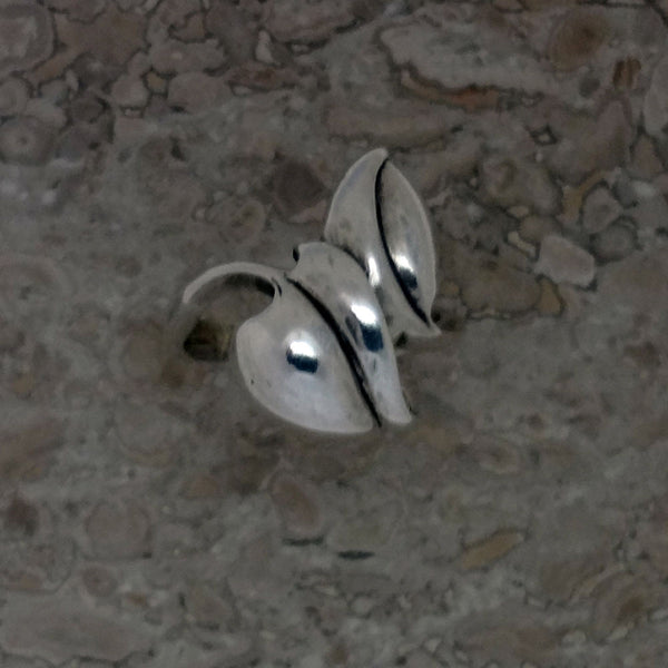 Leaf Ring - Handmade in 14k Gold or Stering Silver