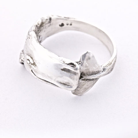 Sperm Whale Ring, hand made by All Animal Jewelry