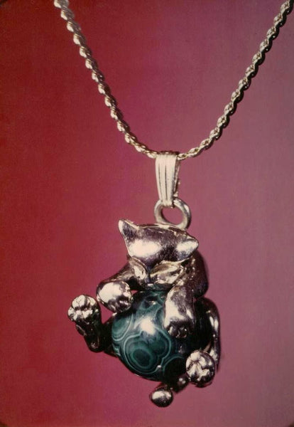 Smooth Cat Pawjama© Pendant - Handmade in Sterling Silver - Wholesale