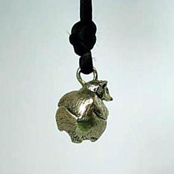 Raccoon Pawjama© Pendant - Handmade in Sterling Silver - Wholesale