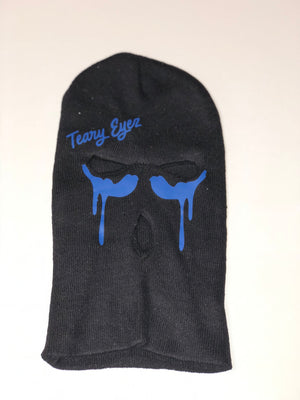 Black and blue Teary Eyez Ski mask