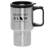 Island Inn Travel Coffee Mug