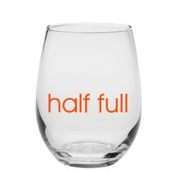 half full glass