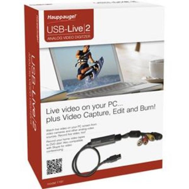 Hauppage! USB-Live 2- Video Digitizer 610- BRAND NEW, SEALED!