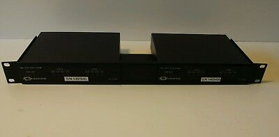 Crestron ST-COM RS-232/422 COM Port Module With ST-RMK Rack (x2)