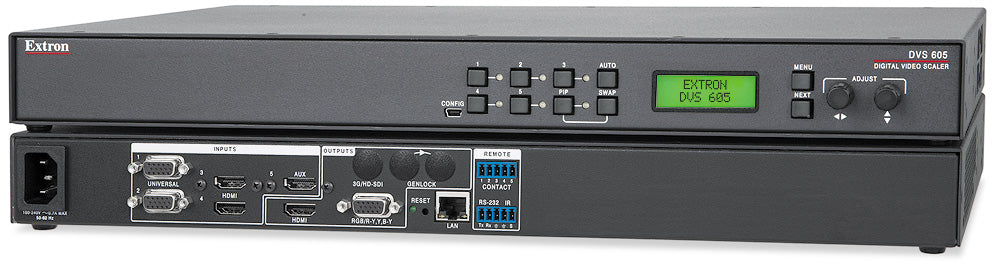 Extron DVS 605 Five Input HDCP-Compliant Scaler with Seamless Switching
