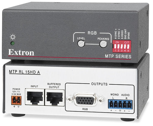 Extron RL 15HD A MTP Twisted Pair Receivers for VGA and Audio