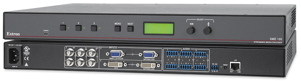 Extron SME 100 H.264 Streaming Media Encoder