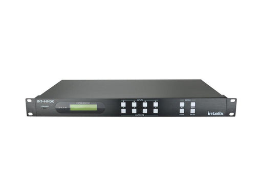 Intelix - INT-44HDX - 4x4 HDMI / HDBaseT Matrix Switcher