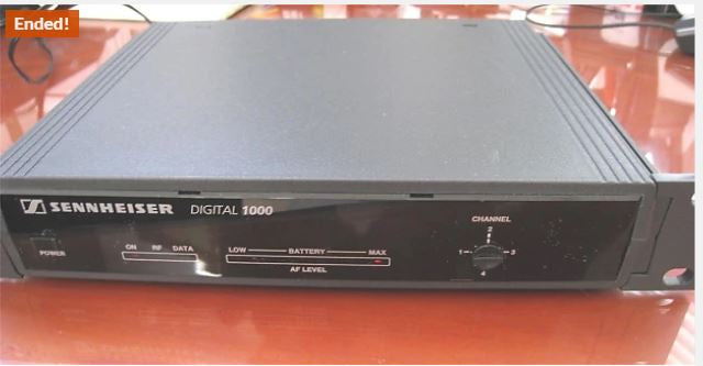 SENNHEISER Digital 1000 EM 1090-Digital Receiver