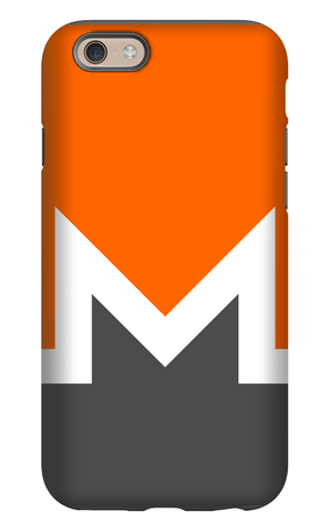 Monero iPhone Tough Case