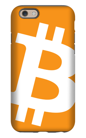 Bitcoin iPhone Tough Case